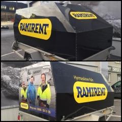 Släpvagnsdekor till Ramirent