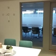 Fönsterdekor konferens KPMG
