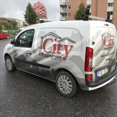 Ny formgivning till City Byggservice