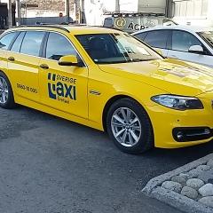 Helfoliering BMW till Sverigetaxi