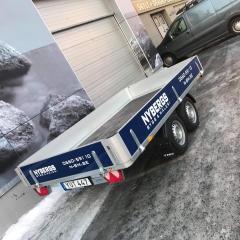 Släpvagnsdekor till Nybergs Bygg & Måleri
