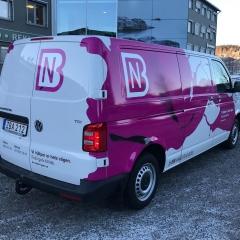 VW Transporter till BN Måleri & Golv