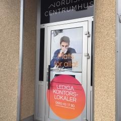 Dörrdekor till Nordiska Centrumhus