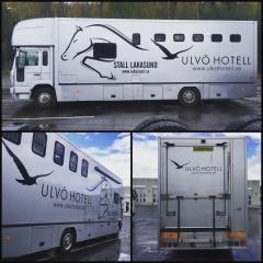 Hästtransport till Stall Lakasund
