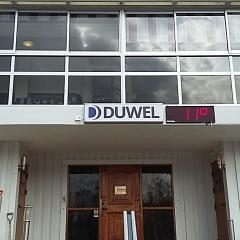 Entréskylt Duwell