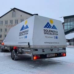 Släpvagnsdekor till Solenergi Specialisten